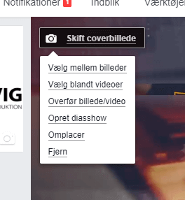 Covervideo til Facebook